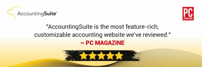 PC Magazine Ranks AccountingSuite